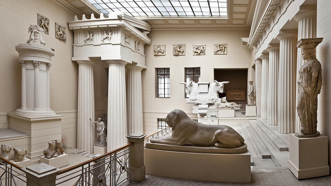 Древнегреческий зал музея изобразительных искусств им пушкина